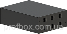 Корпус металевий MB-40 (Ш304 Г230 В100) чорний, RAL9005(Black textured)