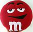 Подушка M&M (микс) 36см, фото 2