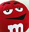 Подушка M&M (микс) 36см, фото 3