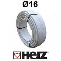 Металлопластиковая труба  HERZ-FH-Rohr PE-RT/AL/PE-RT d=16x2,0  Германия