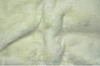 Кролик (искус. мех). Белый.  Ворс 14 мм.. Ширина 150 см..