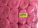 Нитки акриловые цвет светло розовый 2146, фото 2