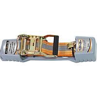 Ремень багажный с крюками, 0,38х5м, храповый механизм Automatic// STELS 54365