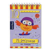 IQ блокнот. 75 рисунков по точкам, фото 1