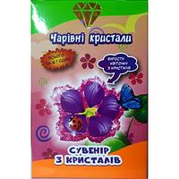 """Набор для творчества """"Сувенир из кристаллов"""" """"Цветочек"""""""