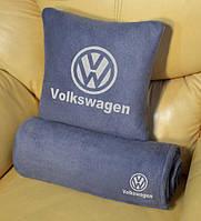 """Плед автомобильный с логотипом """"Volkswagen"""""""
