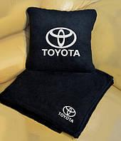 """Плед автомобильный с логотипом """"TOYOTA"""""""