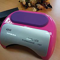 Гибридная Уф-лед Лампа для ногтей 48вт, 10,20,60 сек сенсор