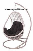 Подвесное кресло кокон из ротанга Комфорт + ПОДАРОК, фото 1