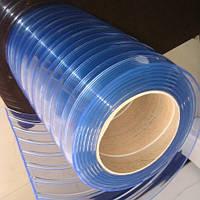 Лента для шторы низкотемпературная  POLAR RIBBED CLEAR 300x3x50, фото 1