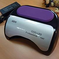 Уф/лед лампа для ногтей LED+CCFL 48W, 10,30,60сек