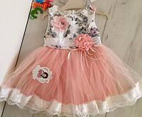 Нарядное платье на девочку 1,2 и 3 года