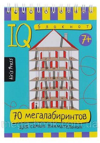 IQ блокнот. 70 мегалабиринтов для самых внимательных
