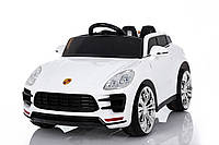 Эл-мобиль Т-7824 WHITE джип EVA колеса на р.у. 2*6V4.5AH мотор 2*15W 110*58*68 ш.к.
