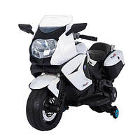 Эл-мобиль Т-7214 WHITE мотоцикл 6V7AH мотор 1*35W 104.5*32.5*63.5