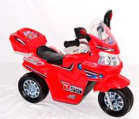 Эл-мобиль T-729 RED мотоцикл 6V4AH мотор 1*15W с MP3 90*44*58