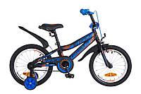 """Велосипед детский Formula Race 16"""" черно-синий"""