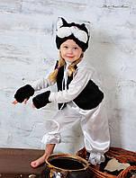 Карнавальный костюм Котенок черно-белый