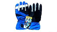 Перчатки горнолыжные детские SHENPEAK CHILD BLUE WHITE С 002