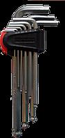 Ключі шестигранні 9 шт 1,5-10 мм (середні шар)
