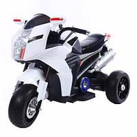 Эл-мобиль T-7213 WHITE мотоцикл 6V7AH мотор 220W 95.544.559.5