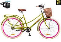 "Велосипед 28"" Dorozhnik Comfort Female PH 2018 (3 spd)"