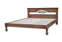 Кроват деривяна двох спальна Женева