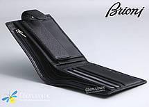 Кошелек мужской кожаный BRIONI черный, фото 3