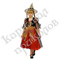 Маскарадный костюм Злая Ведьма (размер M) красный, фото 1