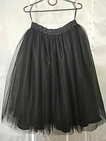 Фатиновая юбка длина 40-55см