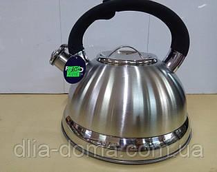Чайник метал свисток 3 л ФРУ-758