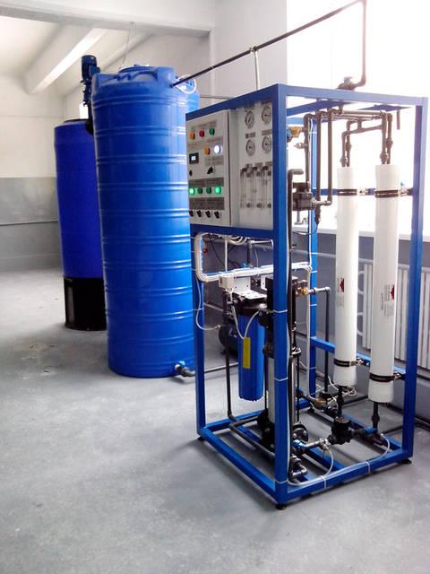 Комплексная водоподготовка расходом 0,5 м3/ч, г.Харьков 1
