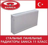 Стальные панельные радиаторы Sanica 11 класс