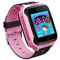 Детские умные часы с GPS трекером G900A розовые