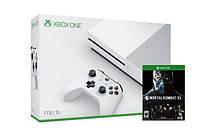 Игровая приставка Microsoft Xbox ONE S 1TB + Игра Mortal Kombat XL