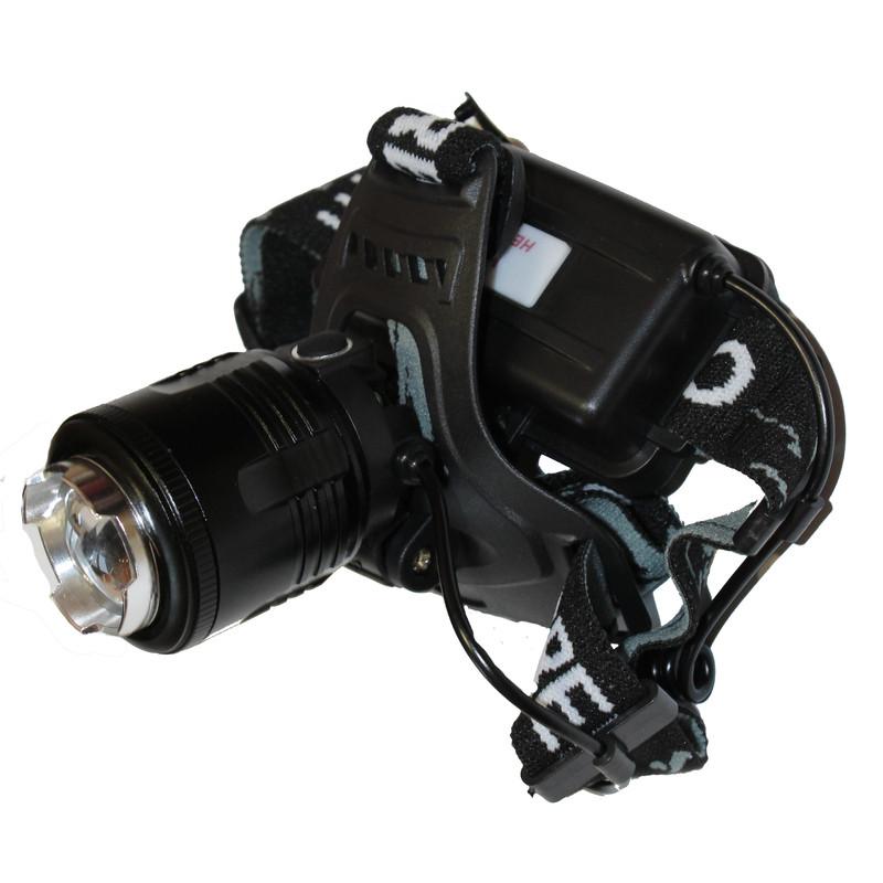 Налобный фонарь Bailong Police BL-2177-2 + Ультрафиолет