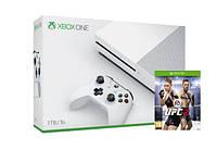 Игровая приставка Microsoft Xbox ONE S 1TB + Игра UFC 2