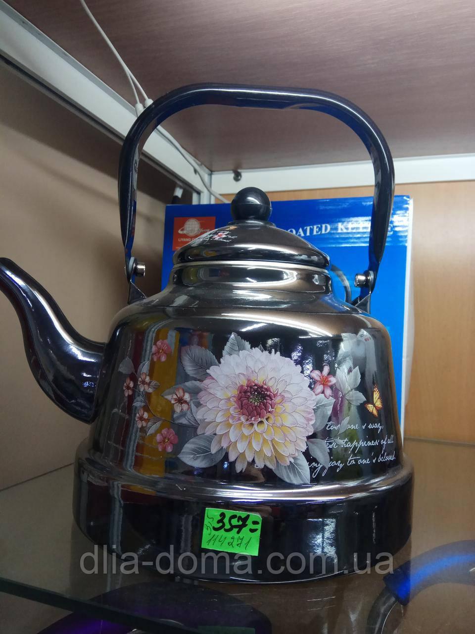 Чайник эмалированный 3,3 л ФРУ-792