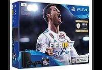 Игровая приставка Sony PS4 1TB + 2 DS4 + FIFA18