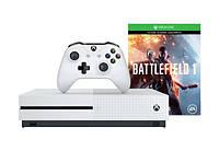 Игровая приставка Microsoft Xbox ONE S 500Gb + Игра Battlefield 1