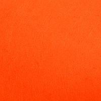 Фетр жесткий 1 мм, лист 20x30 см, ярко-оранжевый (Китай)
