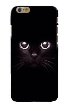 Черный кот чехол Apple Iphone 6 / 6s