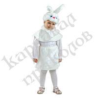 Маскарадный костюм меховой Зайка (размер М), фото 1