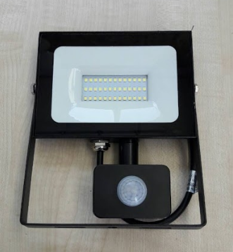 Светодиодный прожектор Lemanso 50W с датчиком движения 3000Lm 6500K
