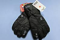 Перчатки горнолыжные HIDRY 0093 черные   код 16