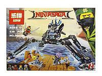 Конструктор Lepin 06054 Ninjago Movie Водяной Робот (аналог Lego Ninjago 70611)
