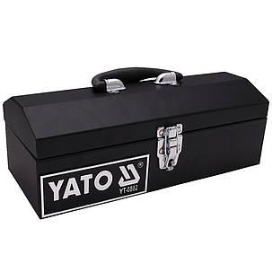 Инструментальный ящик 360х150х115мм (металлический) YATO YT-0882, фото 2