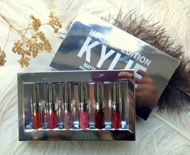 Набор помад Kylie (Кайли) MATTE LIQUID HOLIDAY EDITION