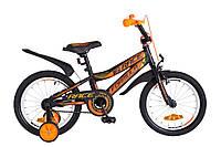 """Велосипед детский Formula Race 16"""" черно-оранжевый"""