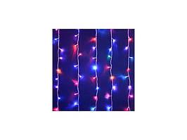 Гирлянда штора комнатная 1,5 м*2 м разные цвета